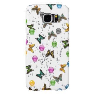 Samsung S6のための蝶デザイン Samsung Galaxy S6 ケース