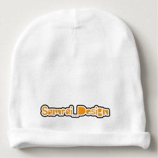 """samurai_design"" logo baby hat ベビービーニー"