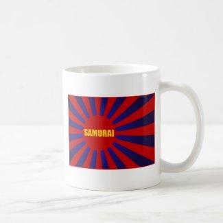 samurai sun rising コーヒーマグ
