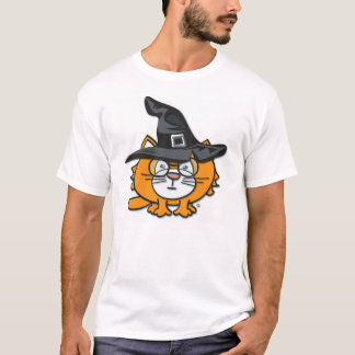 samweeのハロウィンの帽子およびspecsのTシャツ! Tシャツ