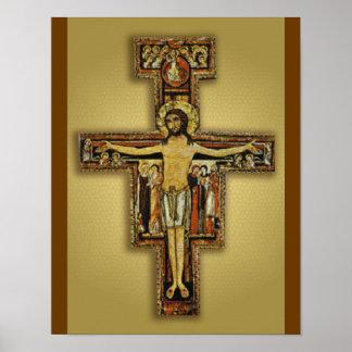 SANダミアーノの十字 ポスター