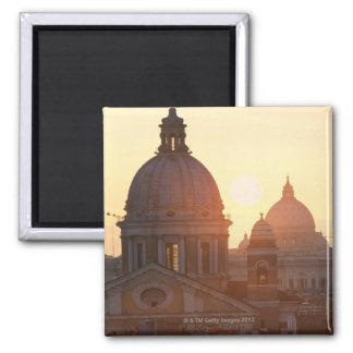 San CarloのAlのCorso教会およびSt.のドーム マグネット