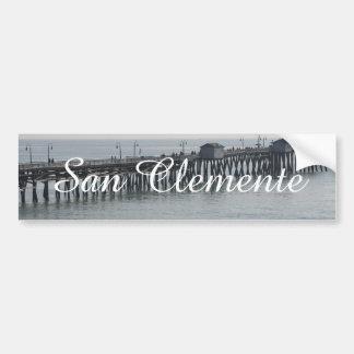 San Clementeカリフォルニア バンパーステッカー
