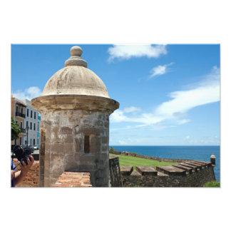San Cristobalの城砦タワー フォトプリント