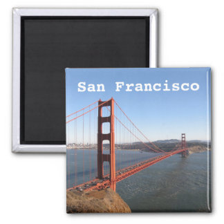 San Francisco CA, Golden Gate Bridge fridge magnet マグネット