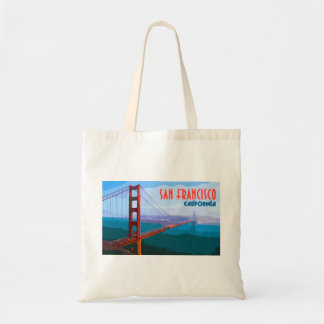 San Francisco Vintage Travel Tote Shopping Bag トートバッグ