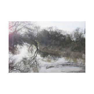 San Joaquin川、Lathrop、カリフォルニア1 キャンバスプリント