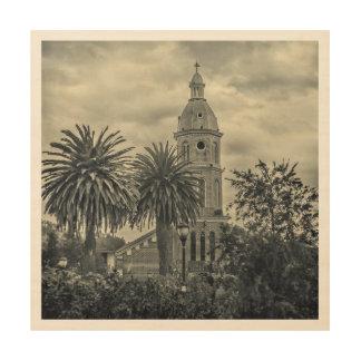 San Luis教会Otavaloエクアドル ウッドウォールアート