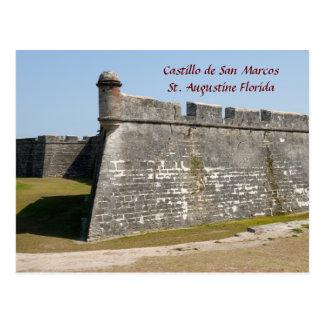 San Marcosの城 ポストカード