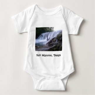 San Marcos川は幼児落ちます ベビーボディスーツ