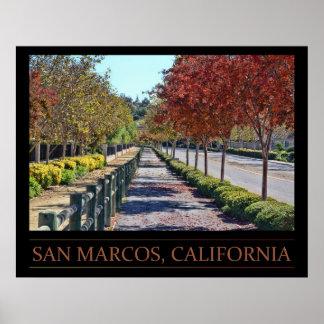San Marcos、カリフォルニアポスター ポスター