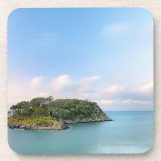 San Nicolasの島の概観、長い露出 コースター