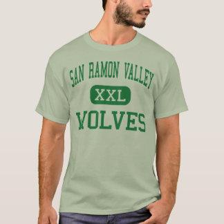 San Ramonの谷-オオカミ-高Danville Tシャツ