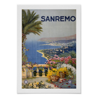 San Remo ポスター