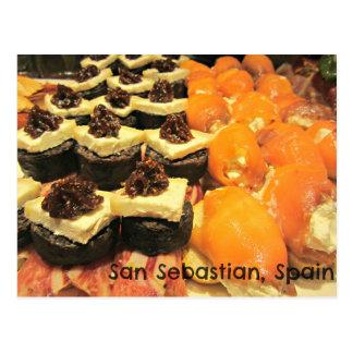 San SebastianのPinxtosのおいしい変化 ポストカード