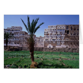 Sana'a、イエメン カード