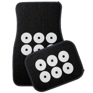 Sanada家族のための6つの硬貨 カーマット