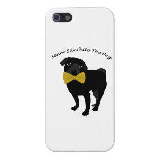 Sanchito氏パグIPHONE 5の箱 iPhone 5 ケース