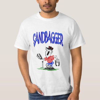 SandBaggerの価値蹄鉄のティー Tシャツ