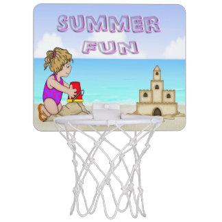 Sandcastle (女の子)の小型バスケットボールたが ミニバスケットボールゴール