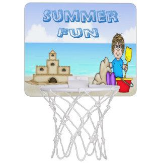 Sandcastle (男の子)の小型バスケットボールたが ミニバスケットボールゴール
