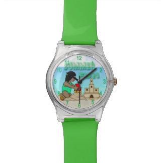 Sandcastle (黒い女の子)の子供のMay28thの腕時計 腕時計