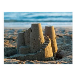 Sandcastle postcard ポストカード