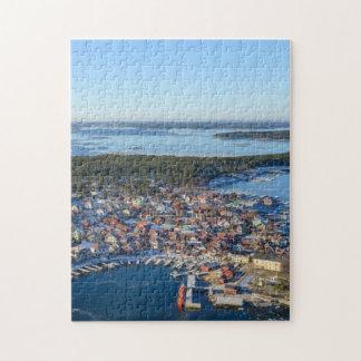 Sandhamnのストックホルムの多島海、スウェーデン ジグソーパズル