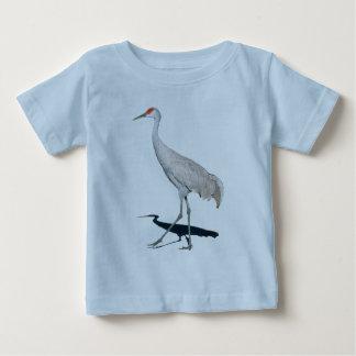 Sandhillクレーンギフト ベビーTシャツ