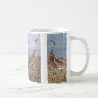 Sandhillクレーンマグ コーヒーマグカップ