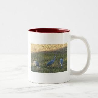 Sandhillクレーンマグ ツートーンマグカップ