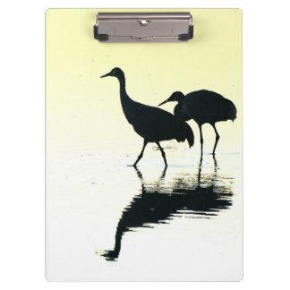 Sandhillクレーン鳥の野性生物動物 クリップボード
