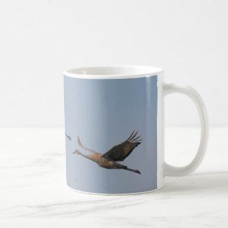 Sandhillクレーン コーヒーマグカップ