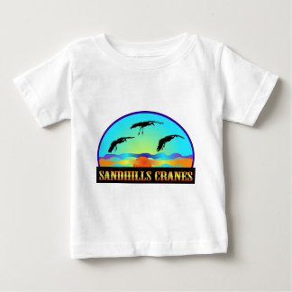Sandhillsクレーン ベビーTシャツ