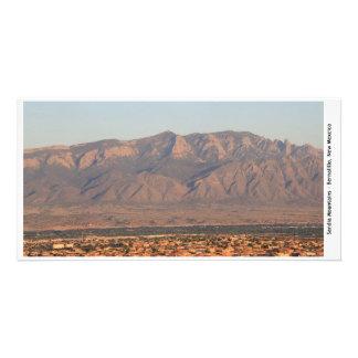 Sandia山のBernalilloのイメージ2の写真カード カード