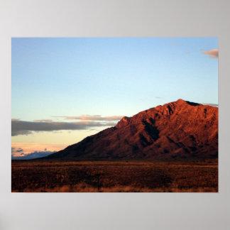 Sandia山-アルバカーキ、ニューメキシコ ポスター