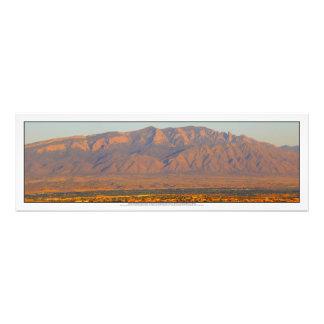 Sandia山Bernalilloニューメキシコ フォトプリント