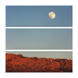 Sandias上の月 キャンバスプリント