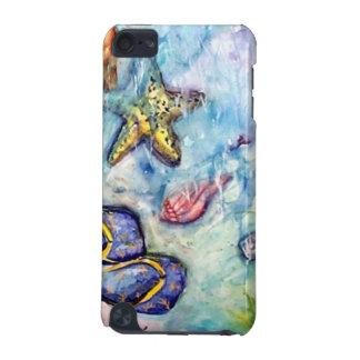 Sanibelのサンダルのビーチサンダルの貝のヒトデ iPod Touch 5G ケース