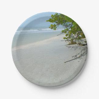 Sanibelの島の平和そして静寂 ペーパープレート