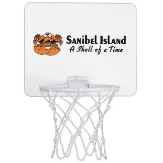 Sanibelの島フロリダ ミニバスケットボールゴール