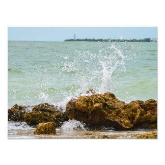 Sanibelの波 フォトプリント