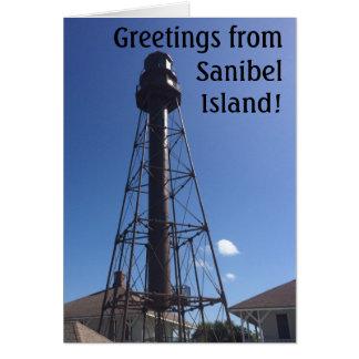 Sanibelの灯台挨拶状 カード