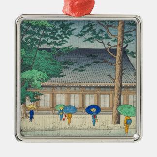 Sanjusangendoの寺院の芸術のAsano Takeji雨 メタルオーナメント
