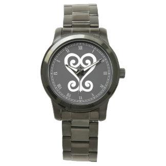 Sankofa |のリターンはそれに- Adinkraの記号を得、 腕時計