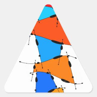 Sanomessia -溶ける立方体 三角形シール