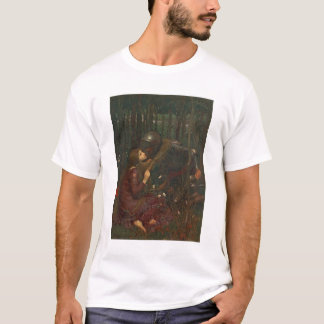 Sans Merci 1893年Laの美女の貴婦人(キャンバスの油) Tシャツ