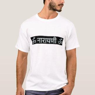 sanskrit信念: 女神Lakshmi: 富、お金 Tシャツ