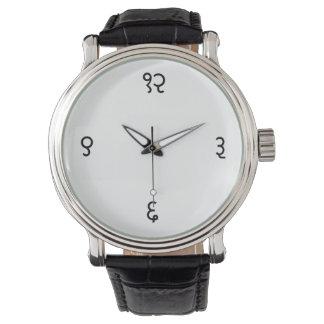Sanskrit時間 腕時計
