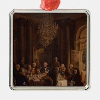 Sanssouci 1850年の食卓 メタルオーナメント